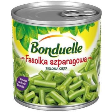 Bonduelle - Fasolka zielona cięta w puszce. Mnóstwo witamin zamkniętych w puszce.