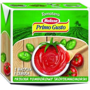 MELISSA przecier pomidorowy 500g - doskonały dodatek do dań kuchni śródziemnomorskiej.