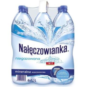 NAŁĘCZOWIANKA Naturalna woda mineralna niegazowana 1.5l