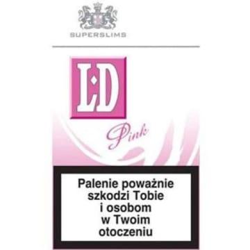 LD Pink Papierosy - karton 10 sztuk 1szt