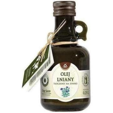 Olej lniany tłoczony na zimno - Oleje Świata - Oleofarm