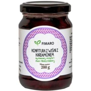 Konfitura z wiśni z kardamonem - Fimaro. Pyszne i zdrowe kanapki.