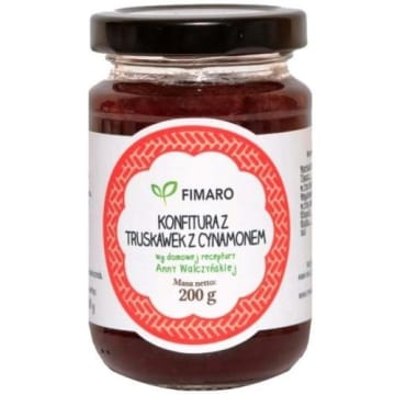 Konfitura z truskawek - Fimaro to najlepszej jakości, pyszny produkt.