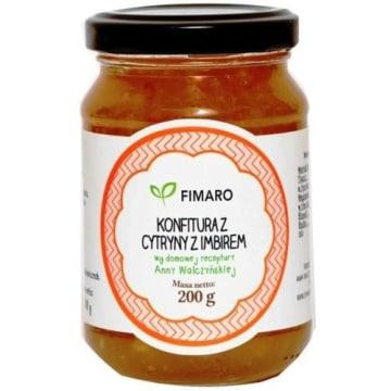 Konfitura z cytryny z imbirem- Fimaro. Doskonały, świeży smak i zapach.