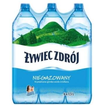 ŻYWIEC ZDRÓJ Naturalna woda źródlana niegazowana 9l