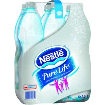 NESTLÉ PURE LIFE Aquarel Naturalna woda źródlana lekko gazowana 1.5l