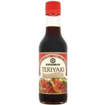 Sos teriyaki - Kikkoman. Sos jest przygotowany wg japońskiej receptury.