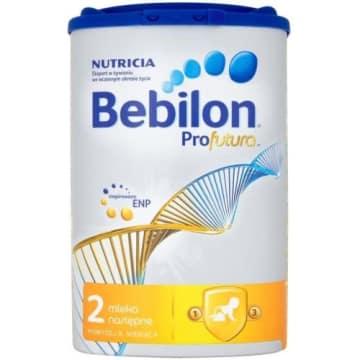 Bebilon-Mleko profutura 2 po 6 miesiącu.Pozytywnie wpływa na rozwój dziecka.