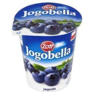 Jogurt Jogobella o smaku jagodowym 150g - Zott