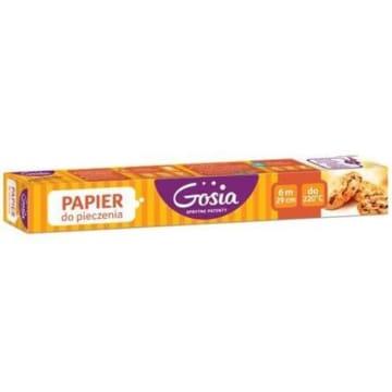 Papier do pieczenia - Gosia. Niezbędny element w każdej kuchni podczas robienia wypieków.