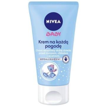 Krem na każdą pogodę - Nivea Baby. Wytworzony w trosce o wrażliwą skórę.