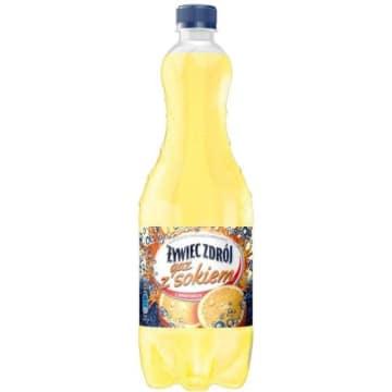 Żywiec Zdrój – Gaz z sokiem o smaku pomarańczowym to źródlana woda gazowana wzbogacona sokiem.