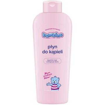 Płyn do kąpieli - Bambino. Świetnie zmiękcza i pielęgnuje skórę.