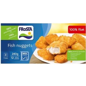 Frosta Fish Nuggets - kotleciki rybne mrożone, 240 g. Popularne danie na polskich stołach.
