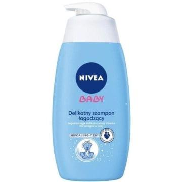 NIVEA Baby Delikatny szampon łagodzący 500ml - działa bardzo delikatnie i łagodnie.
