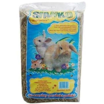 Sianko - Węgrowskie. Ekologiczne sianko, które może służyć za pokarm lub ściółkę dla gryzoni.