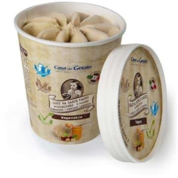 CASA DEL GELATO Lody z masłem orzechowym  i orzechami laskowymi 500ml