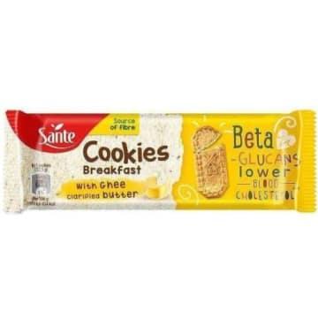 SANTE Śniadaniowe Cookies Ciasteczka z Masłem Klarownym Ghee 50g