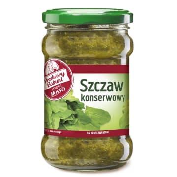 Szczaw Mosso to konserwa, na bazie której można przygotować zdrową zupę i nie tylko.