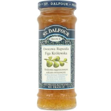 Francuska konfitura figowa Owocowa Rapsodia - St. Dalfour to zdrowa, słodka przekąska dla koneserów.