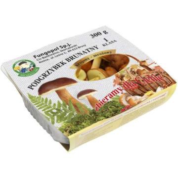 Podgrzybek brunatny krojony - Fungopol. Ten prawdziwy leśny rarytas sprawdzi się w każdej kuchni.