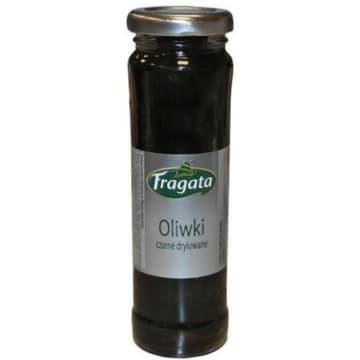 Oliwki czarne drylowane 142g - Fragata