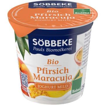 Jogurt brzoskwinia -marakuja 150g - Sobbeke