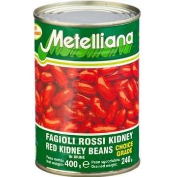 Fasola czerwona 400g - Metelliana. Idealny dodatek do różnych dań.