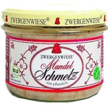 Smalczyk wegetariański z migdałami - Zwergenwiese. Przysmak dla osób na diecie bezmięsnej.