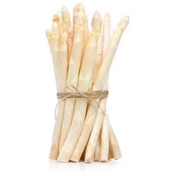 Szparagi białe w pęczkach – Frisco fresh to elikatny i wykwintny pomysł na danie.