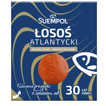 Łosoś wędzony klasyczny plasterkowany - Suempol