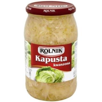 Kapusta kwaszona - Rolnik