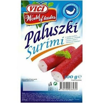 Paluszki surimi o smaku krabów - Vici