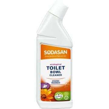 Płyn do czyszczenia toalet bio – Sodasan skutecznie usuwa kamień i zabrudzenia.