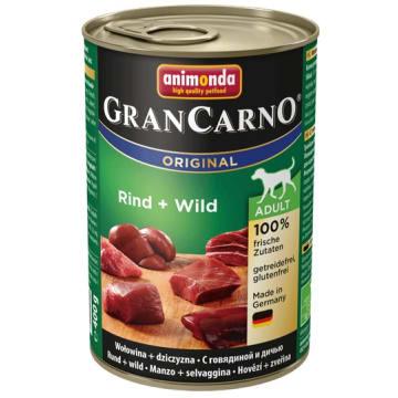 Pokarm dla psa Dziczyzna - Animonda Grancarno Adult. Karma dla dorosłych psów wysokiej jakości.