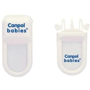 Zabezpieczenie do szuflad – Canpol pasuje do każdej szuflady i jest łatwe w użytkowaniu.