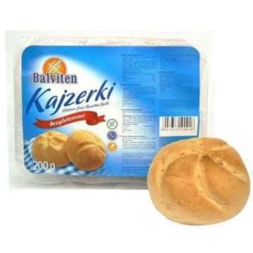 Bezglutenowe bułki kazjerki - Balviten. Pieczywo dla osób z nietolerancją glutenu.