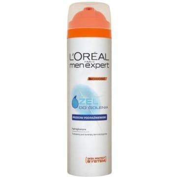 Żel do golenia 200ml LOREAL MEN EXPERT. Zapobieganie podrażnieniom męskiej twarzy.