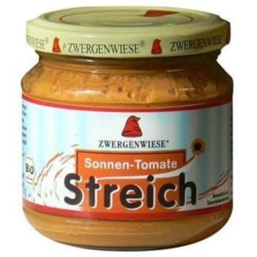 Pasta słonecznikowa z pomidorem-Zwergenwiese to doskonały dodatek do kanapek.