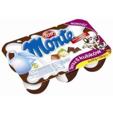 Deser mleczny o smaku czekolady 6x55g - Zott Monte