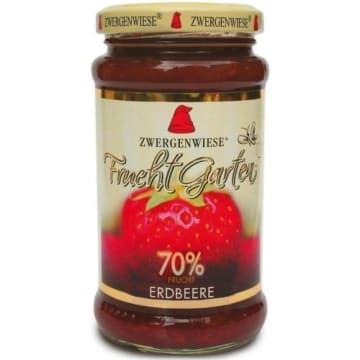 Konfitura truskawkowa BIO 70% - Zwergenwiese to połączenie truskawek, cytryny i agawy.