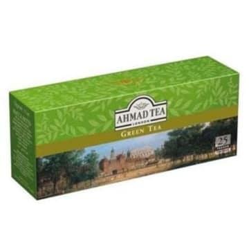 Herbata zielona - Ahmad Tea. Znakomity aromat, któremu nie można się oprzeć.