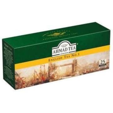 Herbata czarna ekspresowa 25 torebek - Ahmad Tea. Wysokogantunkowa herbata.