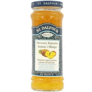 Owocowa Rapsodia - St. Dalfour. Egzotyczny zapach, soczysty smak.