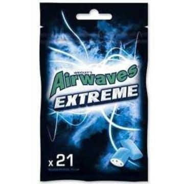 AIRWAVES Extreme Guma do żucia w torebce 21 drażetek 1szt