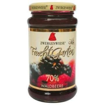 Mus z owoców leśnych Bio Zwergenwiese - lekki mus z malin, jeżyn, porzeczek i jagód.