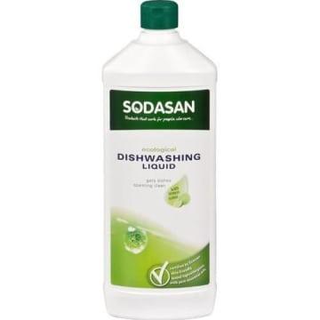 Płyn do zmywania naczyń 1000ml - Sodasan. Lepszy od mydła.