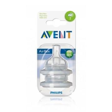 PHILIPS AVENT Smoczek na butelkę wolny przepływ 1m+ (SCF 632/27) 2 szt 1szt