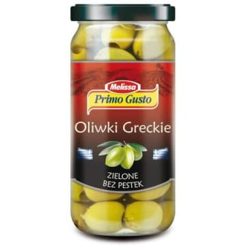 Zielone oliwki bez pestek 250 ml - Melissa