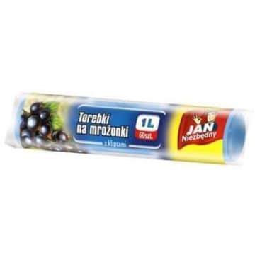 Torebki na mrożonki - Jan Niezbędny. Urzymują świeżość i naturalny smak.